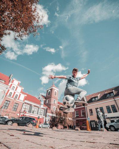 Travel influencers present Kaunas city