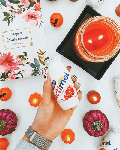 Micro-Influencers presenting Actimel for Danone